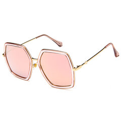 Women Vintage Patchwork Large Frame Sunglasses Casual Visor UV400 All-match Sunglasses