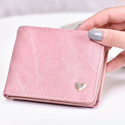 Faux Leather Leisure Coin Purse Wallet For Women