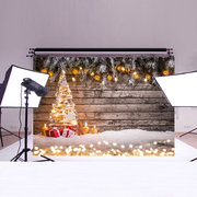 7x5FT Christmas Photography Background Props Studio Vinyl Home
