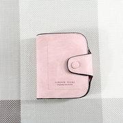 Titolari di carte per donne in pelle rigida