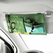 Multifunctional Car Sun Visor Storage Bag Nylon Material Car Storage Bag Car Supplies