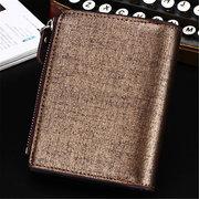 14 fentes pour cartes hommes en cuir PU minimaliste portefeuille vertical Casual Titulaire de la carte portefeuille portefeuille