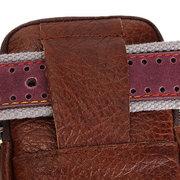 Portefeuille Casaul pour hommes en cuir véritable avec un petit sac de taille