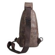 PU couro Vintage impermeável ao ar livre equitação Bolsa Crossbody Bolsa