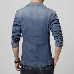 Mens Cotton Demin Stylish Casual Slim Fit Jean Jacket