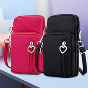 Women Nylon Water Resistant Crossbody Bags Multi-function Phone Bags