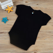 Soft Cotton Letter Printed Unisex Baby Romper For 0-24M