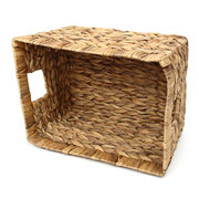 Desk Wicker Storage Basket Drawer Woven Handmade Clothes Laundry Storage Boxes