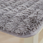 Soft  Thicken Plush Chair Pads with Ties Winter Indoor Warmth Square Chair Cushion Seat Pads