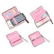 Le donne hanno impresso la borsa lunga della moneta delle borse del telefono della scanalatura delle borse di frizione 6 delle borse di frizione