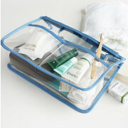 Transparent Large-capacity Travel Organizer Portable Cosmetic Bag