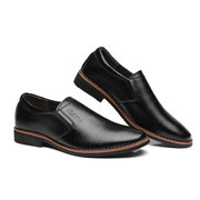 Men Classic Pointed Toe Slip On Business Formal Casual Dress Shoes