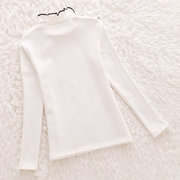 Cute Girls Sweatshirt Clothes Kids High Collar Girls Top Capispalla Abbigliamento