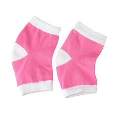 Women Anti-Cracking Gel Socks Nylon Half Socks Silicone Gel Feet Protector Socks