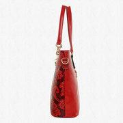 Les femmes 5PCS ont imprimé le long sac à main multifonctionnel de sacs à main multifonctionnel de sacs à main