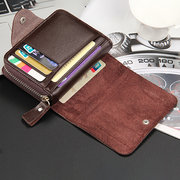 Business Casual Multi-slots Card Holder Trifold Wallet For Men