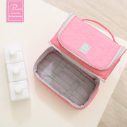 P.travel Waterproof Nylon Multifunctional Wash Bag Travel Hang Cosmetic Storage Bags