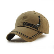 Men's Cotton Washed Embroidery Letter Baseball Cap Leisure Outdoor Golf Snapback Hat
