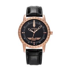 Reloj de cuarzo de cuero de los hombres de lujo de la moda casual Reloj de lujo reloj militar para él
