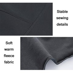 Mens Outdoor Sport Pants Elastic Waist Soft Shell Warm Fleece Lining Waterproof Quick-Dry Trousers