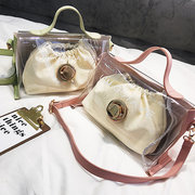 Stylish Creative 2PCS Jelly Bags Shoulder Bags Crossbody Bags for Women