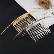 Fashion Hairpin Accessories Bump Surface Decorative Silver Gold Hair Pins Sweet Jewelry for Women