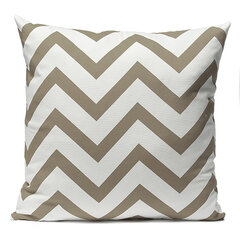 Vintage Zig Zag Wave Printed Cushion Cover Home Decor Throw Pillow Case