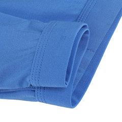 Mens Pure Color Big Pouch Underwear Respirant Soft Culotte taille basse en modal