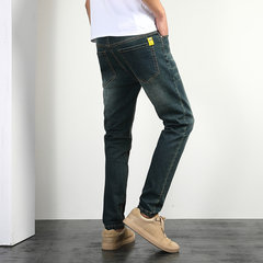 Mens jeans trousers loose large size pants