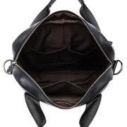 Sac à bandoulière en cuir véritable Porte-bagages Affaires Vintage Sac à main à double usage pour hommes