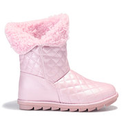 Pure Color Multi-Way Wearing Warm Lining Boots