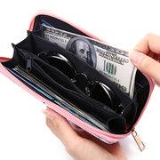 National Style 12 Kartensteckplätze Kartenhalter Telefon Geldbörse Geldbeutel Für Damen