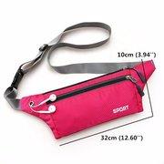 Sacs de ceinture de course en plein air en plein air ceinture sacs de sport Sports Zipper Gym Sacs anti-vol