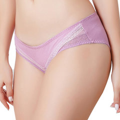 Plus Size Breathable Cotton Soft Mid Waist Panties For Women