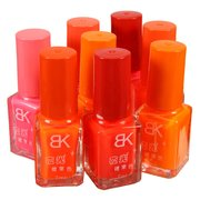 BK Candy-colored Non-toxic Nail Polish 7ml 8 cores