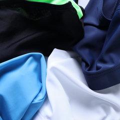 Мужская полосатая цветная вставка Купальный костюм Сексуальный Передняя накладка Quick Dry Drawstring Плавки