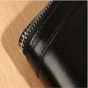 Portefeuille en cuir véritable 8 porte-cartes Business Coin Bag pour les hommes
