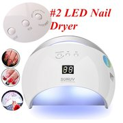 Portable Nail Dryer Soak Off UV Led Nail Lamp Machine Curing All Types Nail Gel Pro Manicure Tool