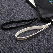 Cactus Pattern Leather Cosmetic Bag Sac à main imperméable et durable