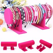 Velvet Headband Hair Band Hair Wrap Holder Boutique Store Display Stand Rack