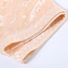 Plus Size Cotton High Waist Hip Lifting Jacquard Panties