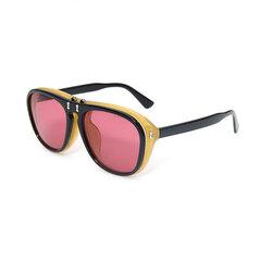 Мужские женские солнцезащитные очки Sunny Side Flip - черепаха