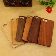 هاتف حالة الغطاء الخلفي للحصول على غطاء خشبي فون