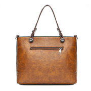 Women Vintage Faux Leather Handbag Shoulder Bags Crossbody Bags