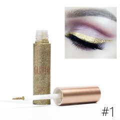 10 couleurs Flash Eyeliner Liquid Shining Pearlescent Colorful Maquillage pour les yeux
