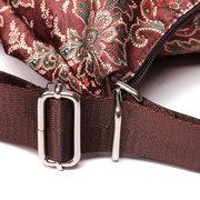 Brenice National Flower Multifunction Shoulder Bags Outdoor Travel Backpack
