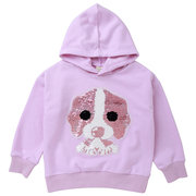 Cute Animal Pattern Girls Long Sleeve Hoodies Shirt Sweatshirt For 2Y-11Y