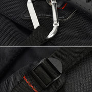 Nylon Casual Water Repellent High Capacity Backpack Outdoor Multifunction Crossbody Bags For Men