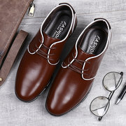 Men Microfiber Leather Non Slip Large Size Soft Casual Driving Shoes