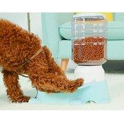 1.8 L Pet Pusher automático para entrenamiento de agua Perro Gato Recipiente interactivo de agua para alimentos